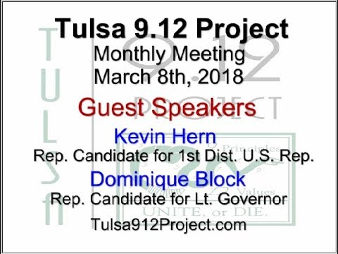 Tulsa 912 Project General Meeting