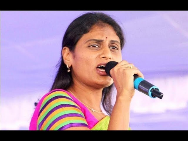 sharmila slams chinthamaneni