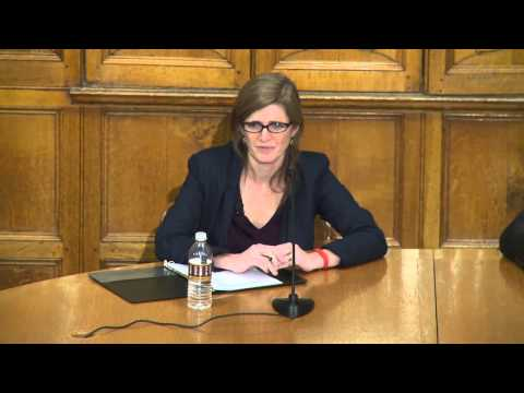 Samantha Power, U.S. Permanent Representative to the United Nations:  Presentation at Yale