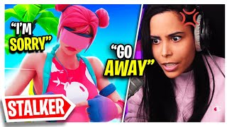 I Confronted My Stream Sniper (Fortnite - Battle Royale) Chica