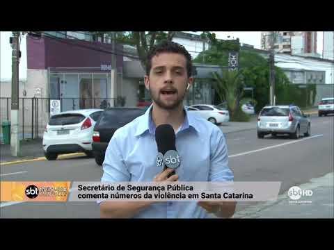 Números da segurança pública em Santa Catarina no primeiro trimestre 2018