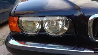 Bmw E38 Facelift 98-01 Front Headlight Lens Shell Cover Aliexpress