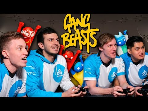 Playing Gang Beasts with Cloud 9 CS:GO