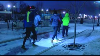 Cold weather doesn't stop local running club