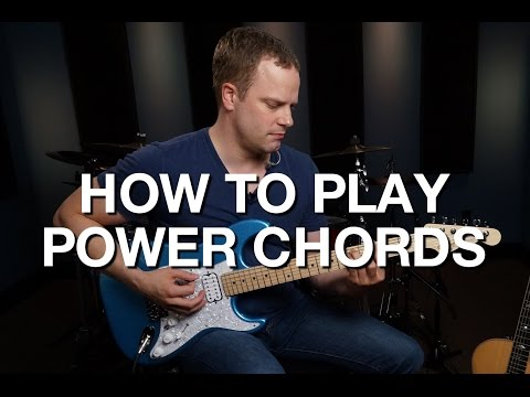 How To Play Power Chords - Rhythm Guitar Lesson #2