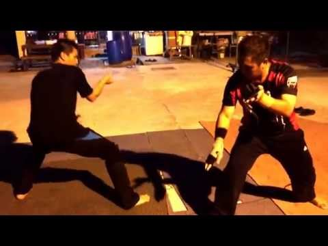 Martial Arts Sparring by Brunei Silat Betawi3