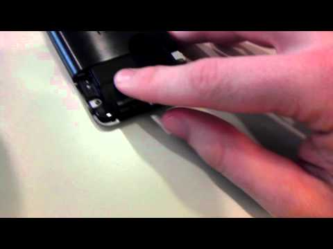 How to take out battery on the HTC Evo Design 4G