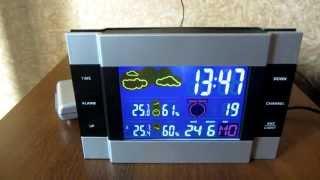 Обзор #1 Часы-метеостанция Marcmart CH113