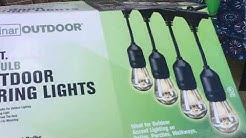 Free -Standing Patio Lights