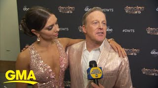 Sean Spicer sent home on 'Dancing with the Stars' l GMA