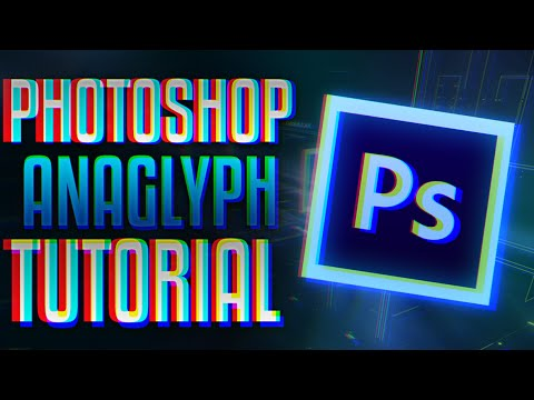 3D EFFECT-ANAGLYPH PHOTOSHOP TUTORIAL
