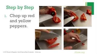 Red & Yellow Pepper Vinaigrette - Pick It, Try It, Like It