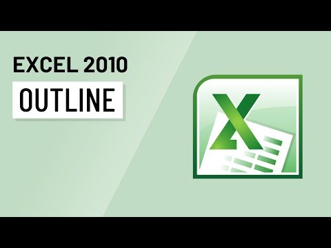 Excel 2010: Outlining