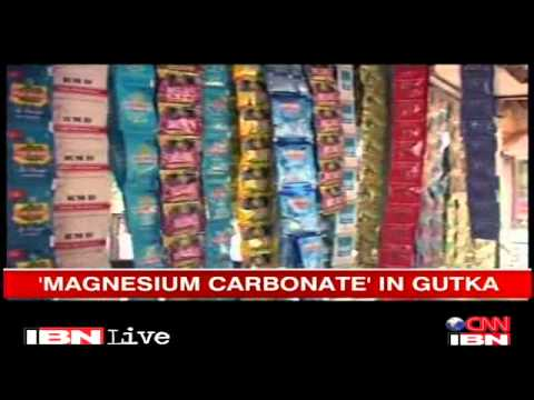 'Gutka Contains Carcinogen Magnesium Carbonate'   Health News   IBNLive
