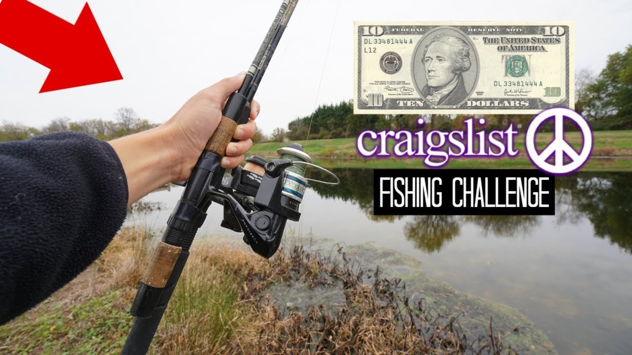 $10 Craigslist Fishing Challenge!! (Crazy Find!)