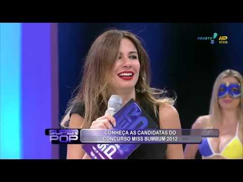 Miss BumBum 2012  Brasil Full lenght