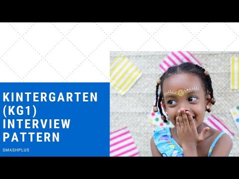 image about School interview kg1 pattern