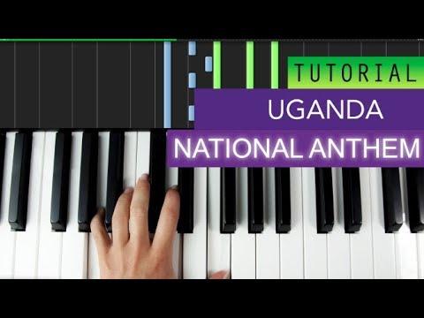 National Anthem Of Uganda Piano Tutorial