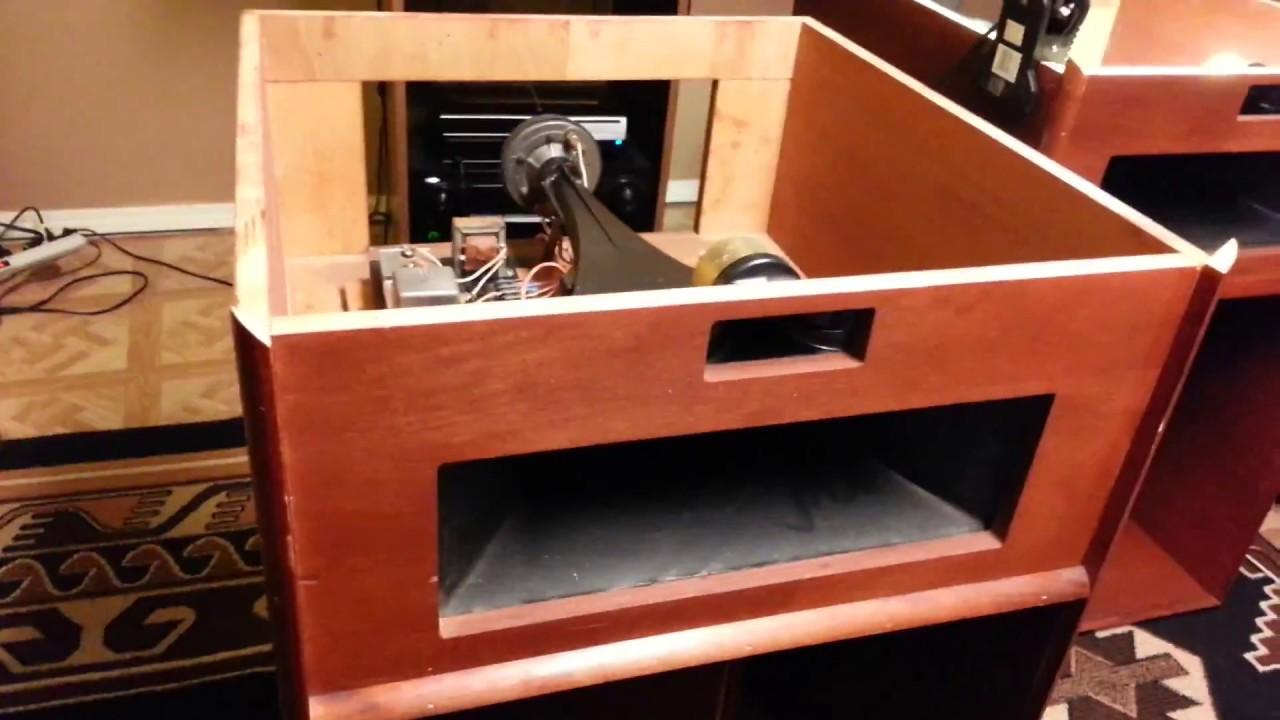 klipsch la scala build youtube. Black Bedroom Furniture Sets. Home Design Ideas
