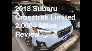 2018 Subaru Crosstrek Limited Review| Pros & Cons | 2,000+ Miles