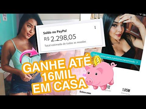 COMO GANHAR DINHEIRO EM CASA!   FAZENDO LIVE