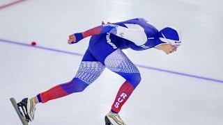Россияне показали блестящие результаты на Чемпионате Европы по конькобежному спорту