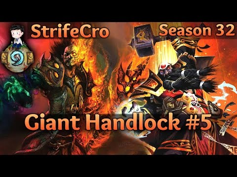 [Hearthstone] Giant Handlock S32 #5: Everything is Shambling into Place