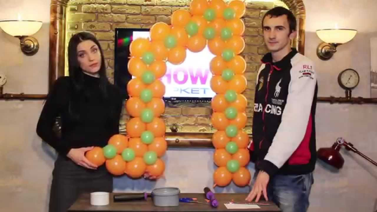 Как из шариков сделать буквы фото 997
