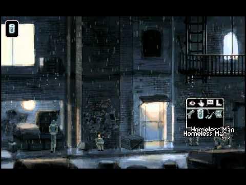 Gemini Rue (part 14 game walkthrough) - Only When Talking to Strangers -