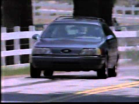 First Ford Taurus Car Commercial 1986 Youtube