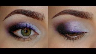Яркий фиолетовый макияж для выпускного/на вечер(, 2015-05-29T22:21:51.000Z)