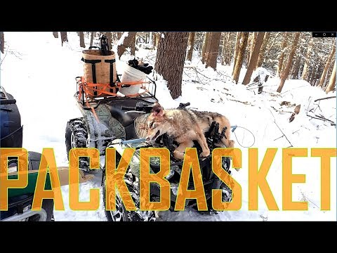 Coyote Trapping Pack Basket Tips!