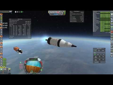 KSP RP-0 1.1 - Ep35: Gemini Direct Saturn IB