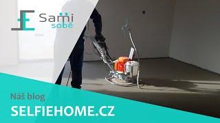 Sami Sobě - Gletování betonové podlahy