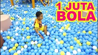 Mandi Bola di Mall Indoor Palyground KidZoona | Mandi Bola Anak-anak Lucu Tanpa Air | Mainan Anak