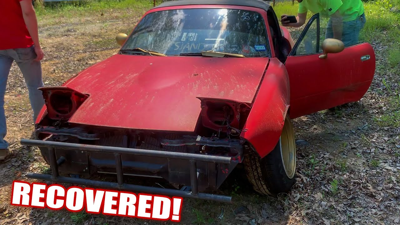 The MIATA was STOLEN! But After 9 Months, ITS BACK!