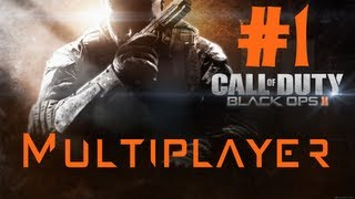 Call of Duty: Black Ops 2 Multiplayer Episode 1: First Match Jitters on Hijacked [HD]