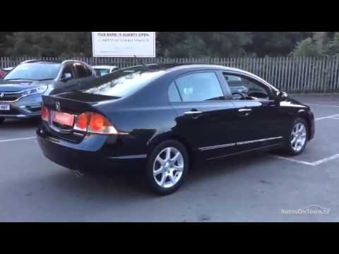 HONDA CIVIC IMA ES HYBRID BLACK 2008