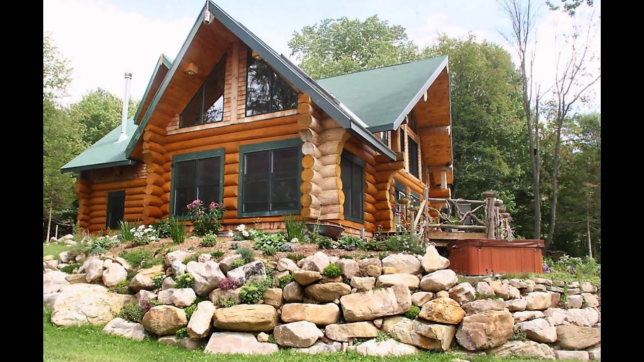 log homes designs 2015 - youtube