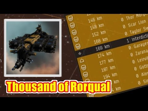 EVE Online - Thousands Of Rorquals Catch