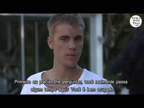 [LEGENDADO] BBC Radio visita a casa de Justin Bieber