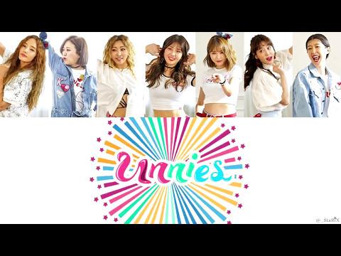 [Color/Member Coded Lyrics] Unnies (언니쓰) – La La La Song (랄랄라 송) Eng/Rom/Han