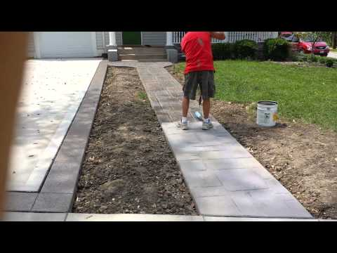 Stamped concrete in St Louis Mo. T & H Foundations