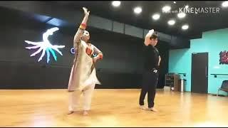 "Saroj Khan ""Tabaah Ho Gaye"" Rehearsals"