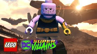 LEGO DC Super-Villains - How To Make Thanos (Avengers: Infinity War)