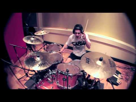 Pendulum - Watercolour drum cover