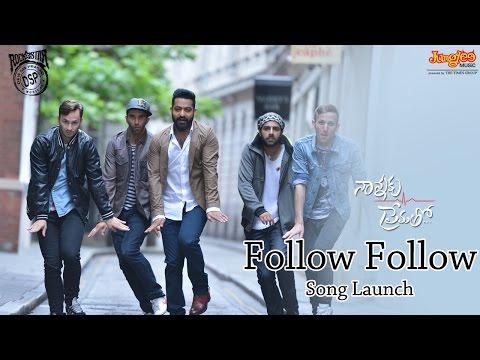 Follow Follow Song Launch || Nannaku Prematho Audio Launch || Jr Ntr, Rakul Preet, DSP