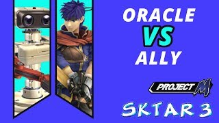 SKTAR 3 PM - Oracle vs Ally - Two money matches (second starts after game 2)