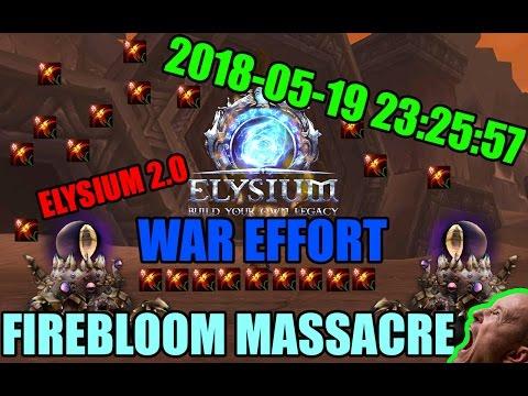 Elysium War Effort