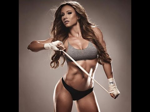 Female Fitness Motivation Girls in Beast Mode